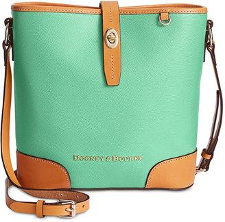 Dooney & Bourke Claremont Crossbody Bucket Bag $228 thestylecure.com