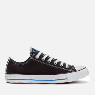 Men's Chuck Taylor All Star Ox Trainers - Black/Totally Blue/White
