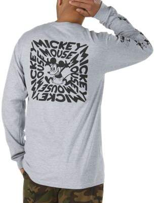 Disney x Vans Mickey Mouse's 90th Plane Crazy Long Sleeve T-Shirt