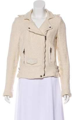 IRO Asymmetrical Tweed Jacket