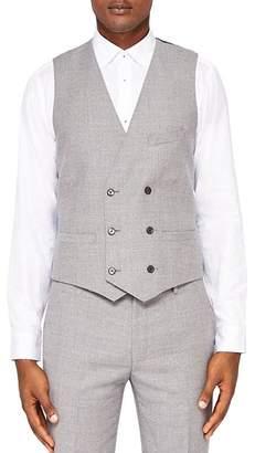 Ted Baker Gibraw Debonair Semi Plain Regular Fit Waistcoat
