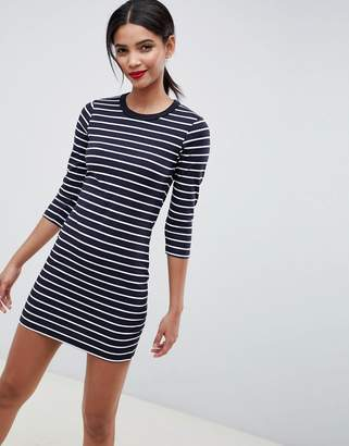 French Connection Tim Tim Stripe Jersey Dress