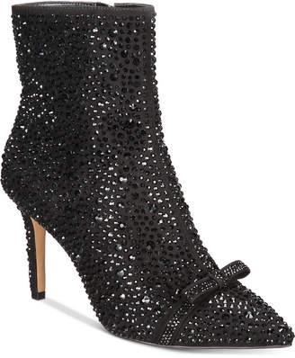 INC International Concepts I.n.c. Ignacia Rhinestone Booties, Women Shoes
