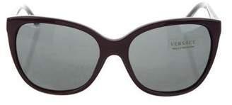 Versace Medusa Cat-Eye Sunglasses w/ Tags