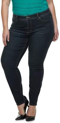 Apt. 9 Plus Size Tummy Control MidRise Skinny Jeans