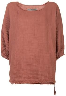 Raquel Allegra textured blouse