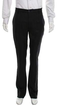 John Varvatos Striped Wool Pants w/ Tags