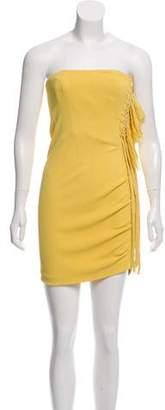 Fendi Strapless Mini Dress