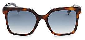 94063d6dd037 Fendi Women s Fun Fair 54MM Square Sunglasses