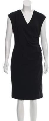 Ralph Lauren Wool Sleeveless Midi Dress