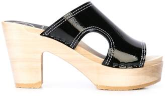 NO.6 STORE Alexis cut-out heeled sandals