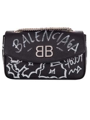 Balenciaga Bb Chain S Graffiti Bag