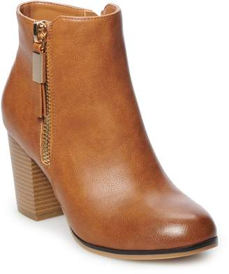 Apt. 9 Timezone Women's High Heel Ankle Boots