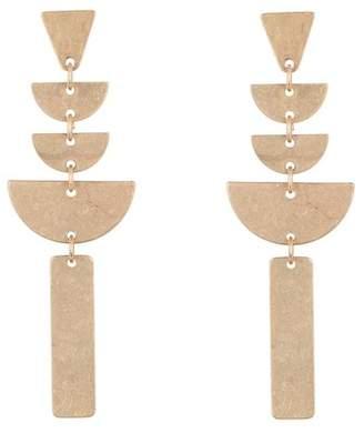 Panacea Linear Art Deco Earrings
