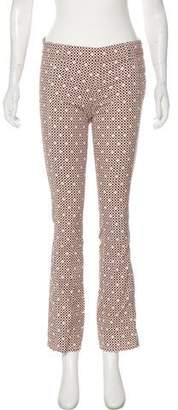 Tory Burch Mid-Rise Printed Pants