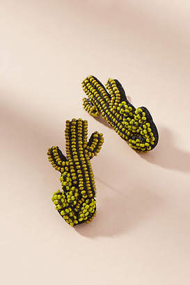 Mignonne Gavigan Beaded Cactus Post Earrings