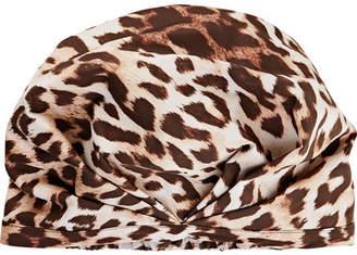 styling/ SHHHOWERCAP The Minx Leopard-print Shower Cap