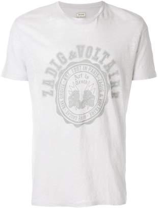 Zadig & Voltaire logo print T-shirt