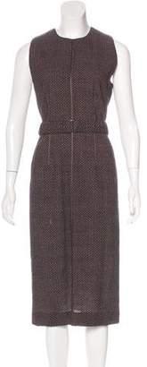 Bottega Veneta Belted Wool Dress