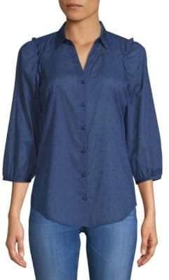 Robert Graham Alcott Printed Cotton Button-Down Shirt