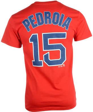 Majestic Men's Short-Sleeve Dustin Pedroia Boston Red Sox Player T-Shirt