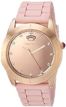 Juicy Couture Women's Connect' Quartz Silicone Smart Watch