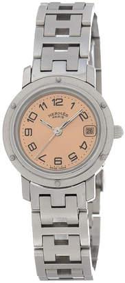 Hermes Clipper 24mm CL4.210 Watch - Vintage