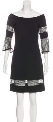 Yoana Baraschi Tonal Mini Dress