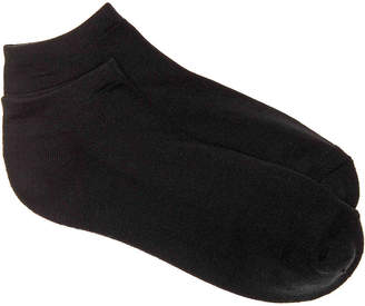 Via Spiga Microfiber Cushioned No Show Socks - 2 Pack - Women's