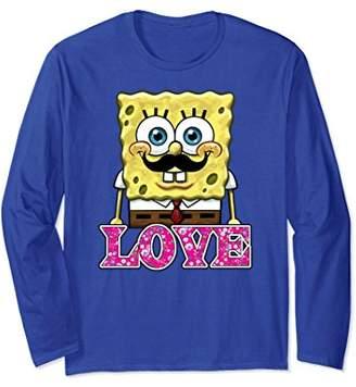 Nickelodeon SpongeBob floral love Long Sleeve T-shirt