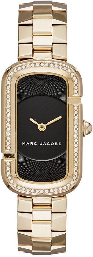 Marc By Marc JacobsMarc by Marc Jacobs Women's The Jacobs Gold-Tone Stainless Steel Bracelet Watch 20x31mm MJ3532