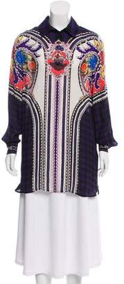 Mary Katrantzou Printed Silk Tunic