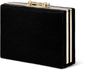 M2Malletier Velvet Box Clutch Bag