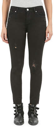 Articles of Society Carly Helena Slit Hem Skinny Jeans