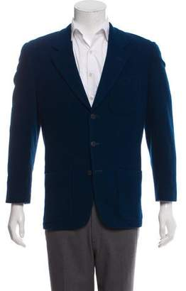 Kenzo Woven Three-Button Blazer