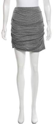 Clu Strapless Metallic Skirt