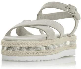 Dorothy Perkins Womens *Head Over Heels Krysstal Ladies Flat Sandals