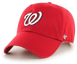 47 47 MLB Washington Nationals CLEAN UP Cap - 100% Cotton Twill Unisex  Baseball ·   aa923af0ac9