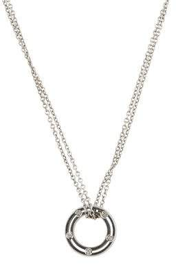 Damiani Diamond D.Side Pendant Necklace