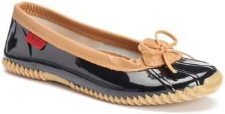 Chooka Women's Duck Skimmer Water-Resistant Rain Shoes