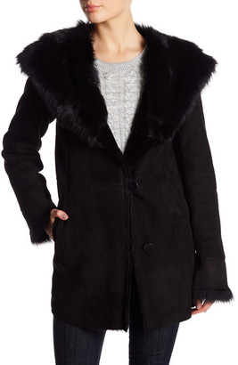 Blue Duck Genuine Shearling Jacket $1,950 thestylecure.com