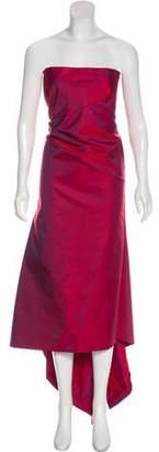 Calvin Klein Collection Strapless Maxi Dress