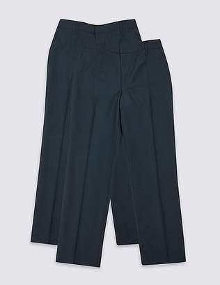 Marks and Spencer 2 Pack Boys' Regular Leg Trousers