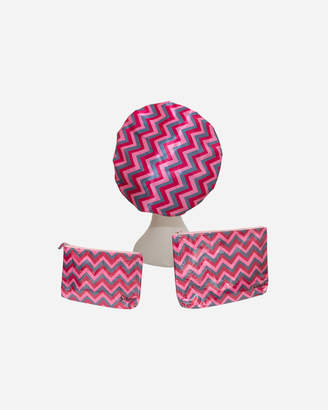 Pink ZigZag MICROFIBRE Cosmetic Package