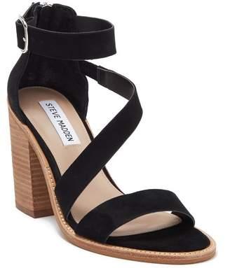 7216e12447 Steve Madden Black Heeled Women's Sandals - ShopStyle