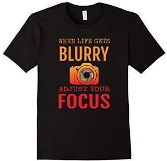 Funny Photography Tee Shirt Gift for Photographer Camera