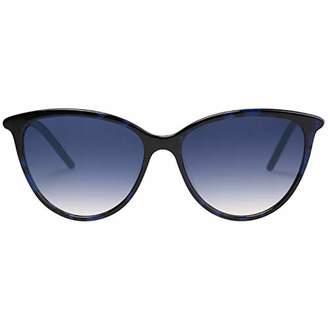 Vintage Sunglasses MAREINE Women Gradient Purple/Black+Blue Frame - Amazon Vine