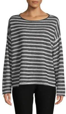 Eileen Fisher Striped Sweatshirt