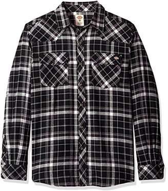 Dickies Men's Western Flannel Shirt