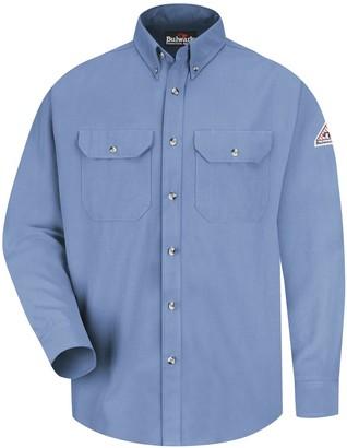 Bulwark Fr Men's Bulwark FR CoolTouch 2 Dress Uniform Shirt